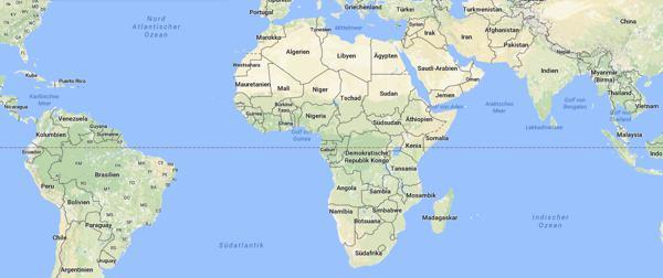 afrika-google-maps