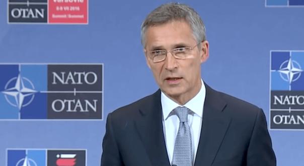 Nato-Generalsekretär Jens Stoltenberg russische Kriegsschiffe