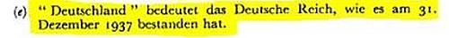 Angebliche Wiedervereinigung = Scheinhochzeit zweier Leichen (BRD und DDR)......