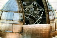 Hexagramm Kanaren Teleskop