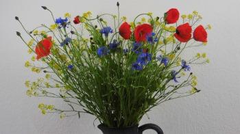 Blumenstrauß vom Feldrand ❁ Deko Ideen mit Flora-Shop