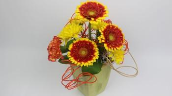Floristik Anleitung Blumengesteck selber machen ❁ Deko Ideen mit Flora-Shop