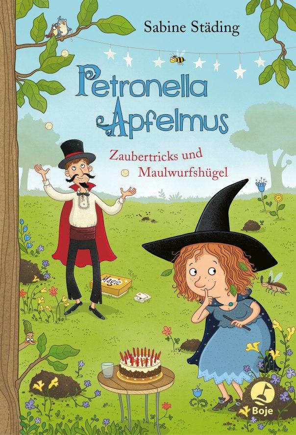 Petronella Apfelmus, Band 8 Zaubertricks und Maulwurfshügel